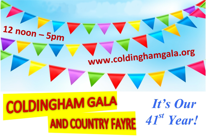 Coldingham Gala and Country Fayre - 40th year!